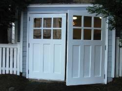 vintage garage doorsHinged Swinging SwingOut or Swing Real Carriage House Garage