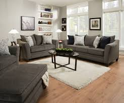 living room the best of simmons flannel charcoal sofa 8787 simmons flannel charcoal sofa