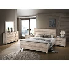 White Wood Bedroom Sets You'll Love | Wayfair
