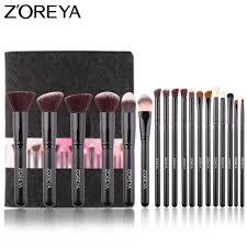 zoreya brand essential makeup brush tools soft synthetic fiber cosmetic sets blending lip contour brushes for make up c18111401 uk 2019 from shen8416
