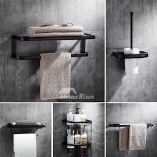 5-Piece Black Bathroom Hardware Sets Oil Rubbed Bronze