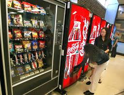 School Vending Machine Mesmerizing Feds Fine Utah High School For Selling Soda During Lunch [POLL]