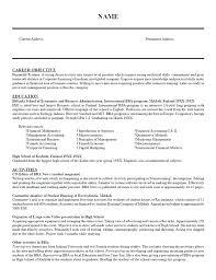 Finance Resume Objective Statements] Finance Resume Objective .