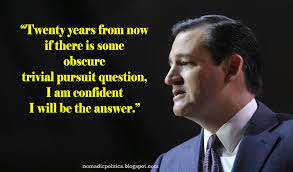 Ted Cruz Quotes Delectable Tea Party's Ted Cruz Is Confident He Will Be The Answer Nomadic