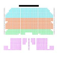 Waitress Seating Chart Seating Chart Queen Elizabeth Theatre