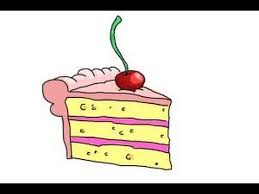 birthday cake slice drawing. Interesting Drawing With Birthday Cake Slice Drawing K