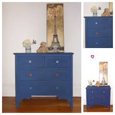 blue shabby chic furniture. Vintage Dresser Restored And Painted Annie Sloan Napoleonic Blue By Dusty Treasures Home Decor \u0026 Jewellery Shabby Chic Furniture .