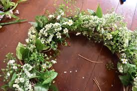 spring wreath for front doorSimple Spring Wreath  Jenna Burger