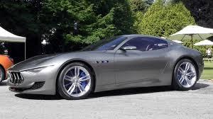 Maserati Alfieri Concept V8 Sound - YouTube