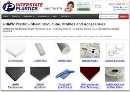 Uhmw Plastic Sheet Rod Tube Profiles Interstate