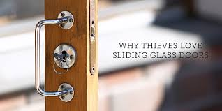why thieves love sliding glass doors