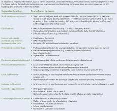 Creating And Developing A Professional Cv Nursingjobstoday Com