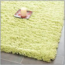 green runner rug lime kitchen