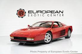 The ferrari testarossa for sale is an icon of 1980s pop culture. 2020 Ferrari Testarossa For Sale In Miami Fl