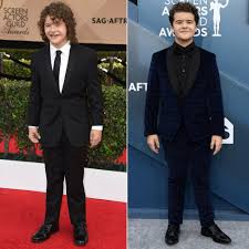 Stranger Things' Kids at Their 1st SAG Awards Compared to 2020