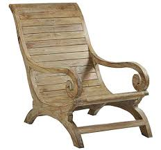wood patio chairs. Kendari Outdoor Lazy Chair Wood Patio Chairs