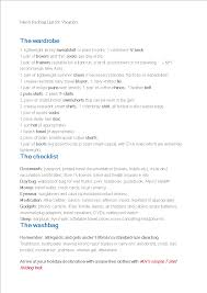 Packing List For Vacation Template Packing List For Vacation For Men Templates At