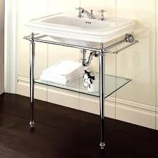 sink with metal legs. Plain Legs Bathroom Console Sink Metal Legs Polished Chrome For  Vanities Close To Me In With 6