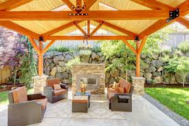 outdoor fireplace can improve your home image san francisco ca fireplace safety services
