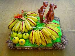 Decorated Fruit Trays Banana in Grass fruit Decoration Plate Decoration Pinterest 89