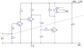 vcr video detector switch controller circuit repository next gr vcr video detector switch controller circuit schematic