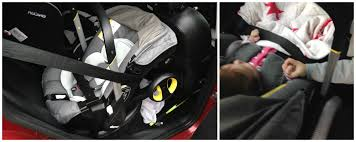 as i said in the first post the doona is isofix compatible however we ve been using it with just the seat belt we did have to a seat belt extender