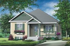2 bedroom 892 sq ft bungalow plan with sundeck