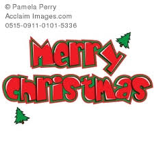 Pictures Of Merry Christmas Design Clip Art Illustration Of A Christmas Design Merry Christmas Graphic