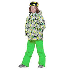 Detector Boys <b>Ski</b> Sets <b>Winter Waterproof Windproof</b> Kids <b>Ski</b> Jacket ...