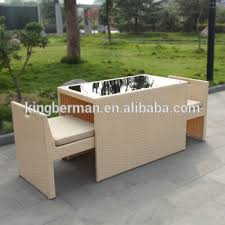 space furniture chairs. Home Garden Furniture Wicker Rattan Table Chairs Set Space Saving And