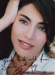 Wishes from multi-talented American Bond girl Trina Parks Wishes from the gorgeous Italian Bond girl Caterina Murino - Aboutphoto8