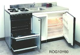 ACME Compact Kitchenettes with ovens, 48
