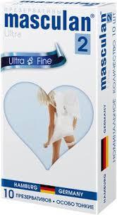 <b>Презервативы Masculan 2</b> Ultra особо тонкие, презерватив, 10 ...