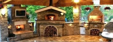 outdoor fireplace and pizza oven combination plans outdoor fireplace with pizza oven gallery wood fired pizza