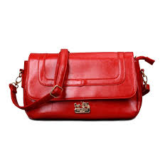 Coach Madison In Saffiano Medium Red Crossbody Bags EKY Clearance Outlet