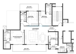 3 bhk 2100 sq ft apartment for in v square group housing simple floor plans