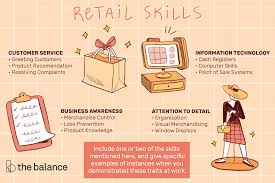 Skills For Work Retail Skills List And Examples
