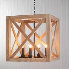 Wood lighting fixtures Creative Lighting Lights Appliancesunique Wooden Home Lighting With Square Wooden Industrial Wood Hanging Lamp Frame Awesome Lasarecascom Lights Appliances Unique Wooden Home Lighting With Square Wooden