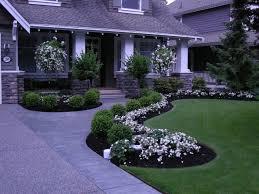 Fabulous Flower Beds  Landscape Contractors. Front Yard Landscaping Make  Over 1 traditional-landscape