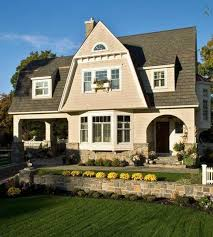 house design with bay window
