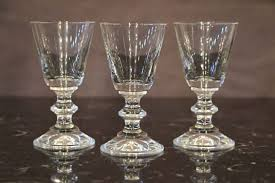 glasses hand blown crystal dimensions