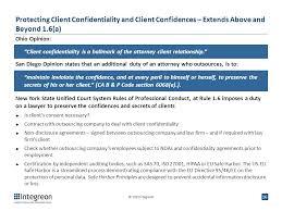 Legal Services Ethics Of Legal Outsourcing Deirdre Oren Byrne, Esq ...