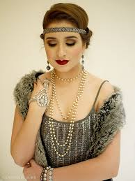 hair tutorial ad oliveandivy makeup flapper vire look with tutorial 1920s gatsby costume party sara du