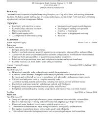 Tv Production Resume Examples Tv Production Manager Sample Resume Podarki Co