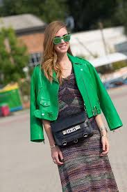 street style green outfits 11