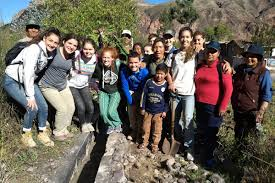 High School Volunteer Abroad Program In Peru Visions Peru 2018