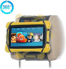 Kindle Car Mount 10 <b>Inch</b> Fire <b>Tablets</b> TFY Universal Car Headrest ...