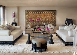 cher s los angeles high rise features decor from around the world