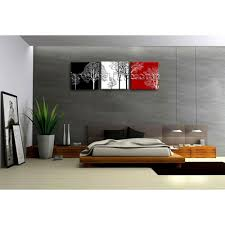 Modern Art Bedroom Large Giclee Print Canvas Wall Art Framed Ready To Hang 3 Pieces