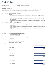 Example Of Medical Assistant Resume Medical Assistant Resume Examples Duties Skills More